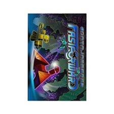 Jammers Chain Brite Rectangle Magnet