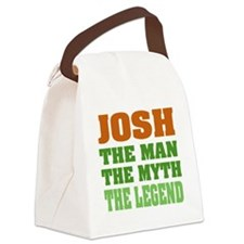 Josh The Legend Canvas Lunch Bag