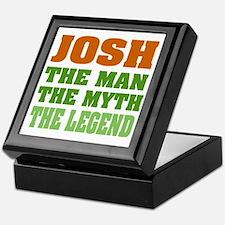 Josh The Legend Keepsake Box