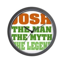 Josh The Legend Wall Clock