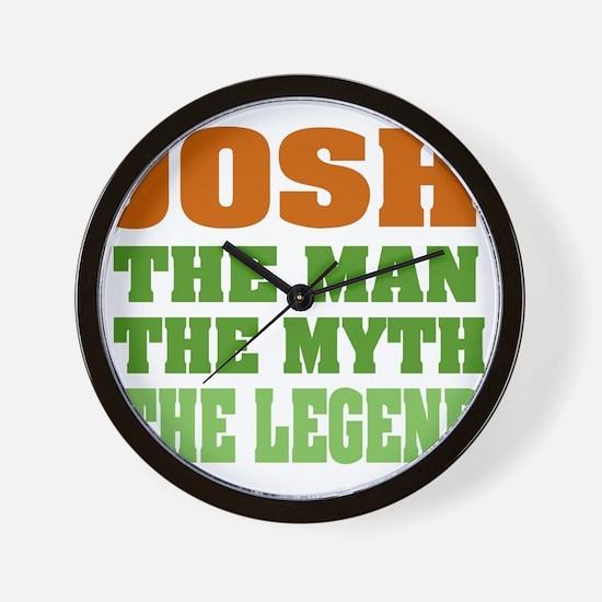 Josh The Legend Wall Clock