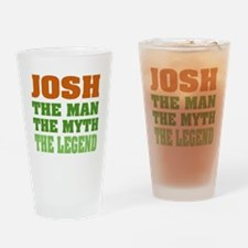 Josh The Legend Drinking Glass