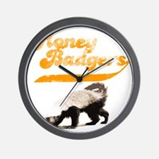 honeybadgershirts Wall Clock