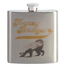 honeybadgershirts Flask