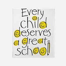 EveryChildSchool Throw Blanket