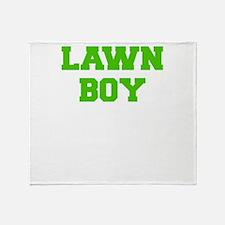 LAWN BOY Throw Blanket
