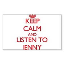 Keep Calm and listen to Jenny Decal