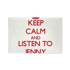 Keep Calm and listen to Jenny Magnets
