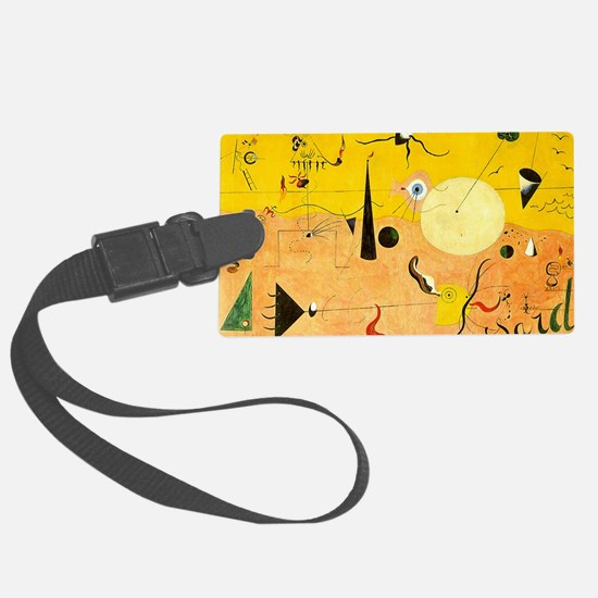 Catalan Landscape The Hunter Luggage Tag