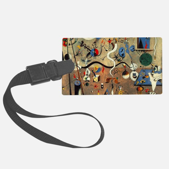 Carnival Harlequin Luggage Tag