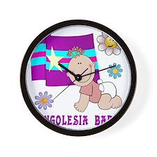 Bongolesia_Baby Wall Clock