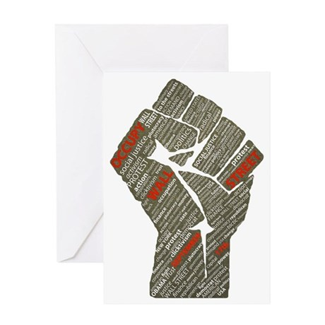 ows_fist Greeting Card
