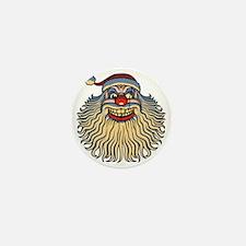 scary-clown-santa-T Mini Button