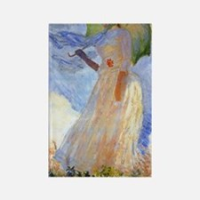 441 Monet Left Rectangle Magnet