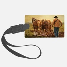 notecard_jethro_tull_man_walking Luggage Tag