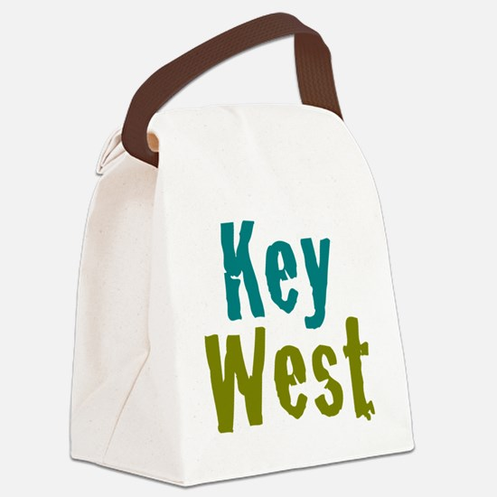 24x24at200KeyWest Canvas Lunch Bag