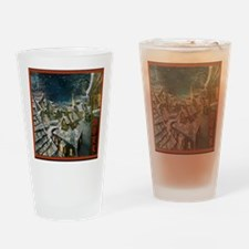 Fire and Ice Cafe Drinking Glass