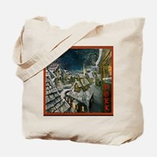Fire and Ice Cafe Tote Bag