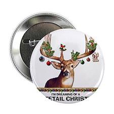 "Whitetail Deer 2.25"" Button"