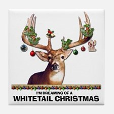 Whitetail Deer Tile Coaster