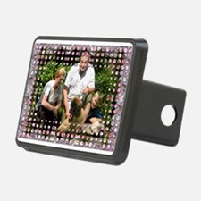 Personalizable Pink Bling Frame Hitch Cover