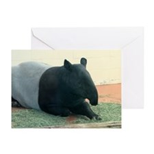 TapirWA Shoulder Greeting Card