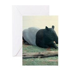 TapirWA Ipad Greeting Card