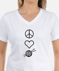 Peace Love Knit Shirt