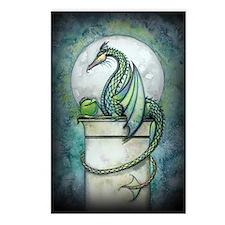 green dragon 2 zaz Postcards (Package of 8)