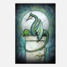 green dragon 2 zaz Postcards (Package of 8)