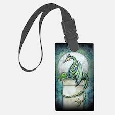 green dragon 2 zaz Luggage Tag
