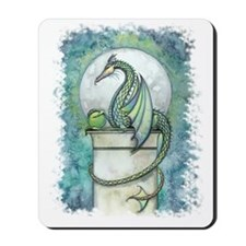 green dragon no background Mousepad