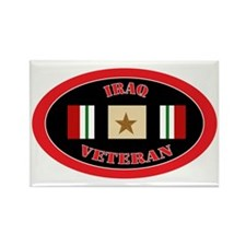 Iraq-1-oval Rectangle Magnet