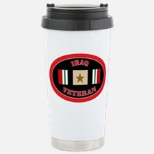 Iraq-1-oval Stainless Steel Travel Mug