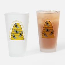 beekeepers dark Drinking Glass
