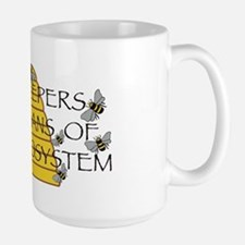 beekeepers wide Mug