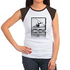 2011-12-06_iPX_Ski_Wipe Women's Cap Sleeve T-Shirt