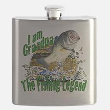 Grandpa fish Flask