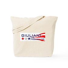 ::: Rudy Giuliani - Stripes ::: Tote Bag