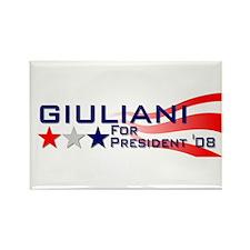 ::: Rudy Giuliani - Stripes ::: Rectangle Magnet