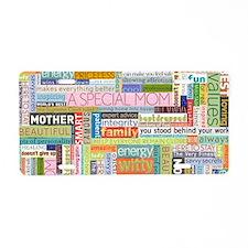 Mom Clutch Aluminum License Plate