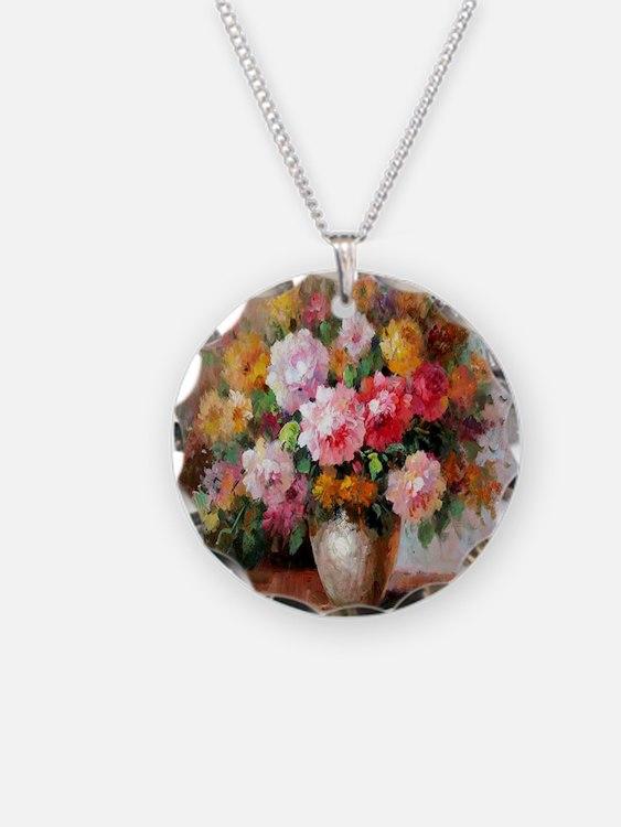 flower013 Necklace