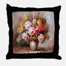 flower013 Throw Pillow