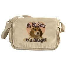 beagle sis.gif Messenger Bag