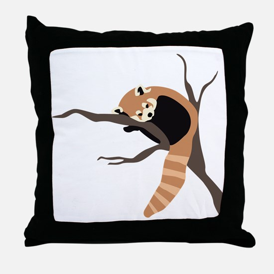 RedPanda Throw Pillow
