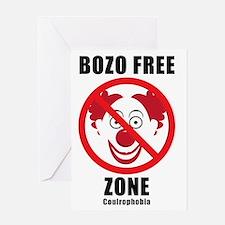 Bozo Free Greeting Card