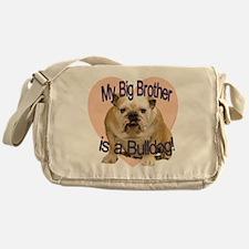 bulldog bro.gif Messenger Bag