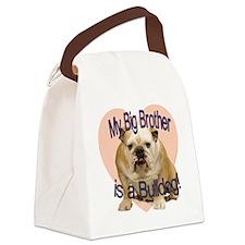 bulldog bro.gif Canvas Lunch Bag