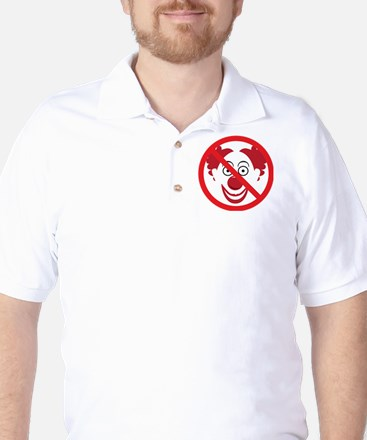 NoClowns Golf Shirt