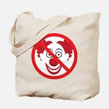 NoClowns Tote Bag